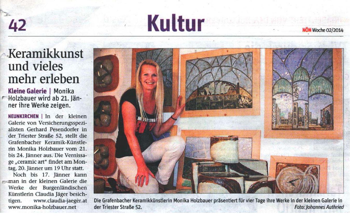 Monika Holzbauer Presse
