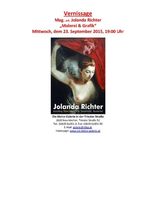 Vernissage Jolanda Richter