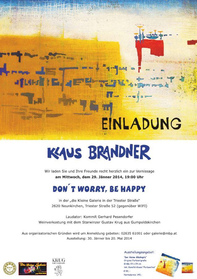Vernissage Klaus Brandner